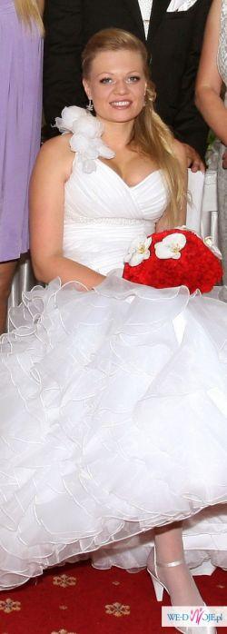 suknia Hiszpanka biała