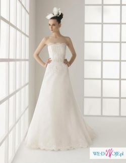 Suknia hiszpankiej projektanki ROSA CLARA, model OHIO, kolekcja 2011