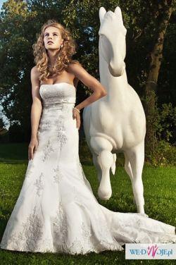 Suknia Isidore biała