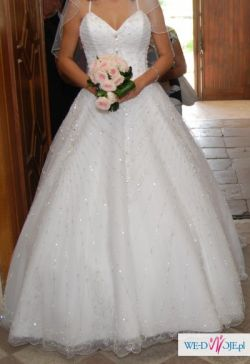 Suknia jak z bajki !!!!