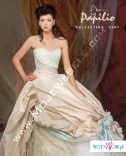 suknia jak z bajki Papilio 2007 za polowe ceny!