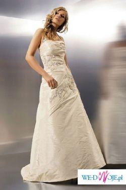 Suknia jednoczęściowa Agnes 1549 rozmiar 36/38, piękna,elegancka!