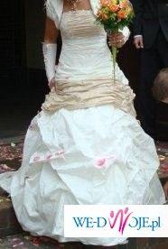 Suknia Julia+buty+stroik+rękawiczki!!!