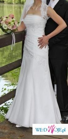 suknia Julia Rosa - biała
