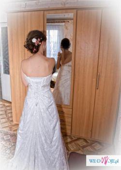 suknia koronkowa  sophia tolli felice rozmiar 36