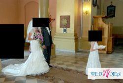 Suknia La Sposa Madeira - kolor lekko złamanej bieli