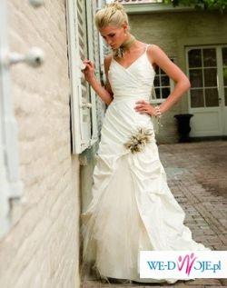 Suknia Linea Rafaeli set 43 bardzo tanio