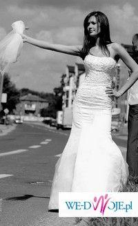 """Suknia Lisa Ferrera """"rybka"""" 36"""