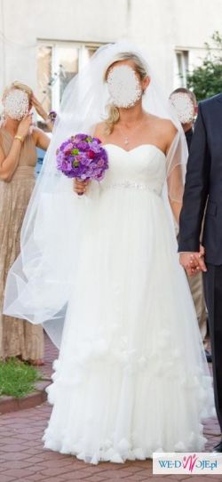 suknia madonna welon buty