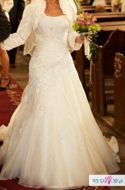 Suknia Maggie Sottero LEONI, rozm. 34 /36