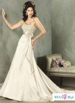 Suknia Maggie Sottero model KYM kolor gold rozmiar 38