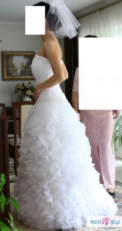 Suknia Margarett, model Acanto, rozmiar 36