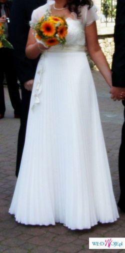 Suknia model 2008, plisowana, inna niż wszystkie!!!