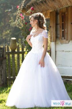 Suknia moich marzeń - Princessa a'la Justin Alexander 8477