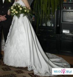Suknia na 175 cm  za jedyne 500 zl! Kosztowala 2300!!!