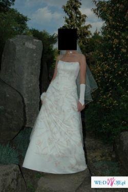 Suknia na niepowtarzalny dzień w życiu :)