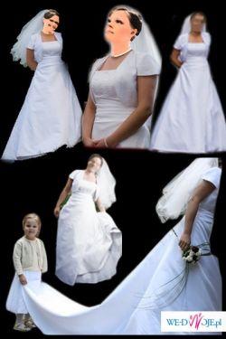 Suknia na przpiękną ceremonię zaślubin