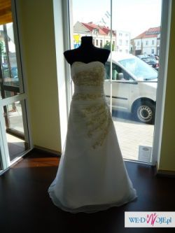 suknia po likwidacji salonu