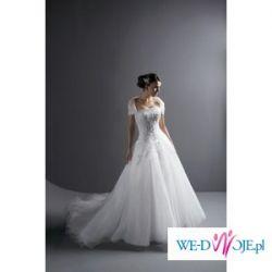 suknia princesska od JA z najnowszej kolekcji 8477