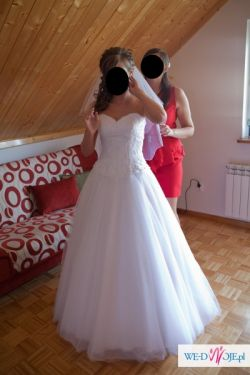 Suknia Sincerity 3520-księżniczka
