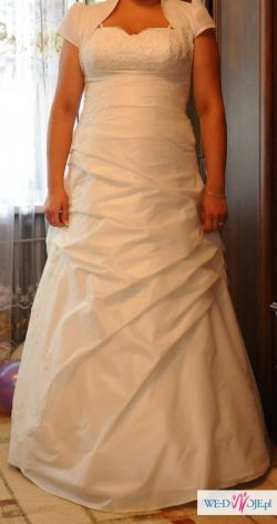 Suknia Ślbna-sprzedam