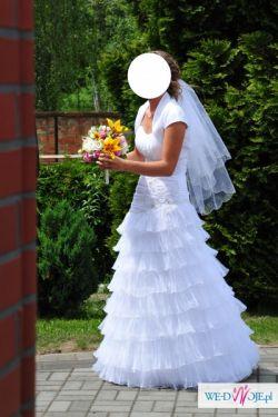 Suknia śluba - CLASSA rozm. 38