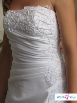 Suknia śluba z kolekcji Antra, Model: Nebraska