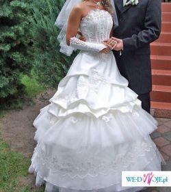 suknia ślubana.