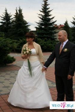 Suknia ślubna 1100 ZŁ- DO MAŁEJ NEGOCJACJI!!!!!
