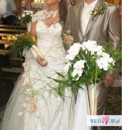 Suknia Ślubna 2 częściowa rozm. 40, 42, 44, 46
