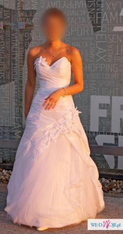 Suknia ślubna 3436 Stan Bardzo Dobry Suknie ślubne