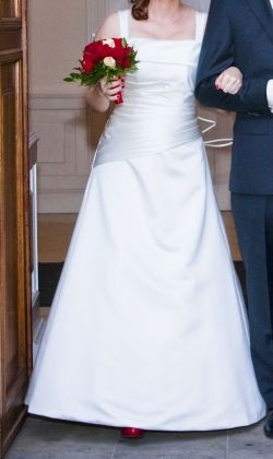 Suknia ślubna 36 38 Kolor Ecru Na Wys 160 Cm Suknie ślubne
