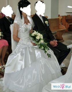 Suknia Ślubna 36/38 na wysoką osobę 174-180