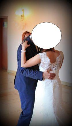 Suknia Ślubna 36/38 NABLA LOME + GRATISY