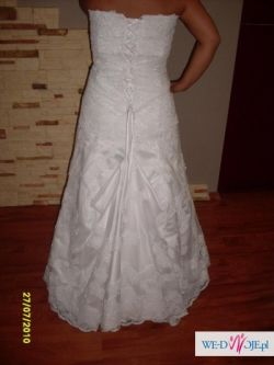 suknia ślubna 38/40 + 4 gratisy!!!!  polecam cena do negocjacji