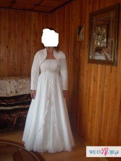Suknia ślubna 38/40 biała