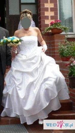 suknia ślubna 38/40 gorset + spódnica