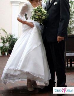 Suknia ślubna 38, styl romantyczny, wyjątkowa !