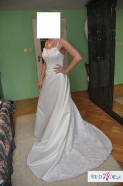 Suknia ślubna 38roz.
