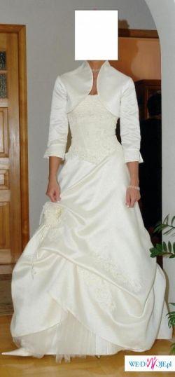 Suknia ślubna 4 częściowa!!!TANIO!!!350 pln!!!