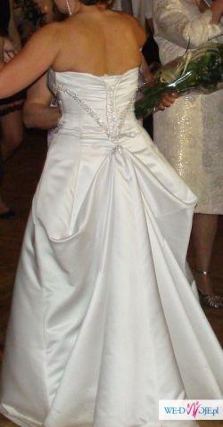 suknia ślubna 40/42 biała