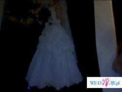 suknia slubna 40/42 wraz z dodatkami