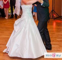 Suknia Ślubna 40 ŚMIETANKOWA