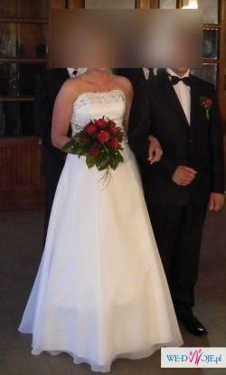 ae1774e9b0 suknia ślubna 42 44 - Suknie ślubne - Ogłoszenie - Komis