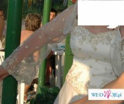 suknia ślubna 42/44 z wlasnego projektu