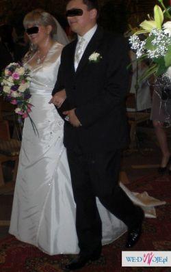 Suknia ślubna 46 ecru Płock