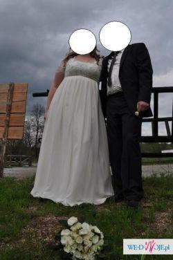 dd7d919811 Suknia ślubna 48-52 54 - Suknie ślubne - Ogłoszenie - Komis