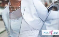 Suknia ślubna-500zł, Katowice  rozm 40