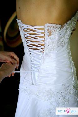 suknia ślubna 8OOzł