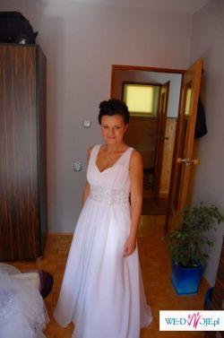 "Suknia ślubna ""Afrodyta"" 38/40+GRATIS"